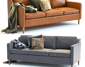 West Elm Hamilton Sofa 3D