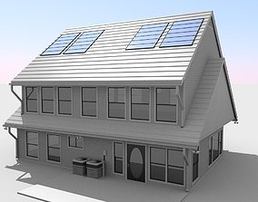 structure Modern House 3D model