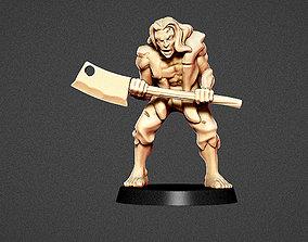 3D printable model Classic Zombie