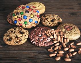 3D Cookies Scene
