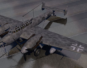 Messerschmitt Bf-110 G-4 Nachtjager 3D