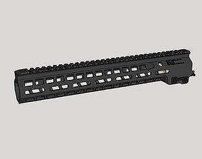 Mk14 M-Lok Rail for AR15 3D