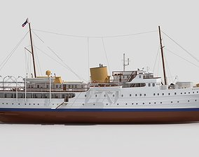 Norge is the Royal Yacht 3D model