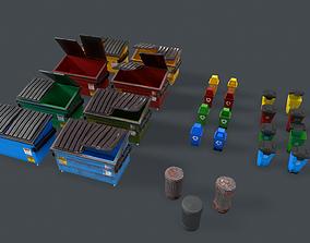 3D model Dumpster Pack