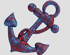 3D print model Anchor Pendant