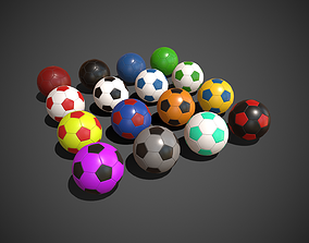 Soccer Balls futbol 3D