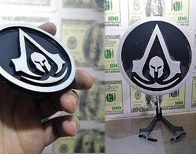 3D print model Assassinss Creed Odyssey Logo