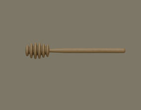 3D model Honey Dipper