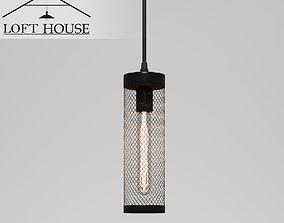 light 3D rigged LOFT HOUSE