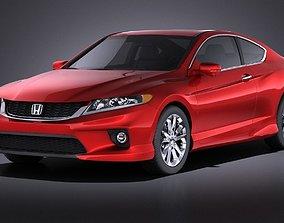 3D Honda Accord Coupe 2015 VRAY