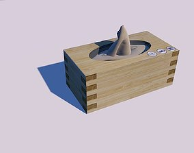 3D model Tissue Box Cinema4D Cien