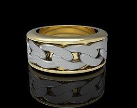 luxury Men Ring 3D print model