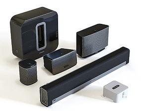 Audio System Sonos Gen 1 3D model sonos