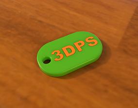 Multi-Color Logotip Keychain keychain 3D print model