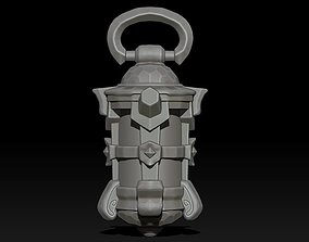 3D print model Stylized Medieval Fantasy Lamp