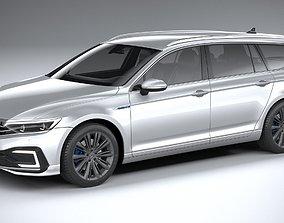 Volkswagen Passat Variant GTE 2020 3D model