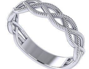 3D print model Braid ring