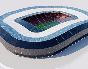 3D model Allianz Riviera - Stade de Nice