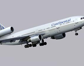 3D asset McDonnell Douglas DC-10 Continental AG