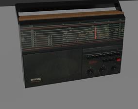 3D model Old - retro Stereo