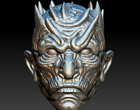 Night Kingh Head 3D printable model