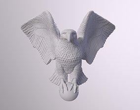 animal 3D print model Eagle