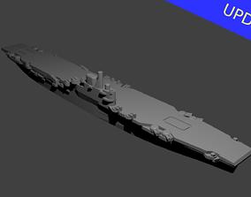 3D printable model British Illustrious Class Aircraft