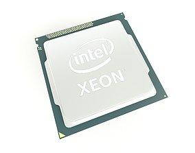 Intel CPU XEON 002 3D model