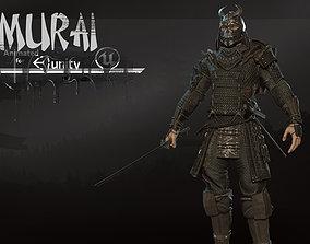 3D model Samurai remastered 2