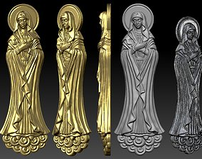 St Maria basrelief 3D printable model