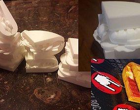 3D print model 4 TYPES OF SANDWICH