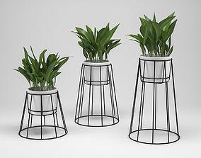 pot-plant OK DESIGN CIBELE PLANT STAND 3D