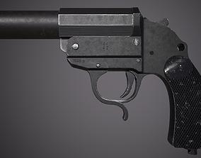 LP34 Flare gun - Leuchtpistole 34 3D asset