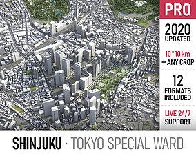 3D asset Shinjuku - Tokyo special ward