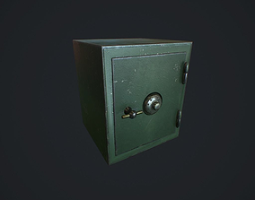 Safe v1 pbr 3D asset game-ready