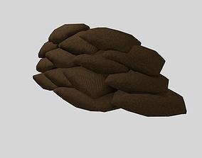 Trench sendbags 3D model