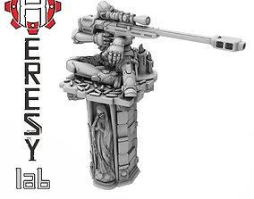 3D printable model Heresylab - Assassin