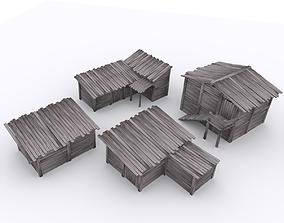 ShackHouse Collection 3D model