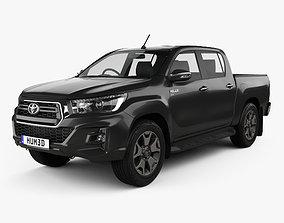 Toyota Hilux Double Cab L-edition 2019 3D