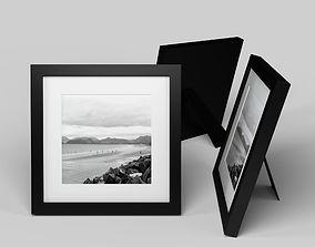 Modern Picture Frame - Seaside Photo 3D model