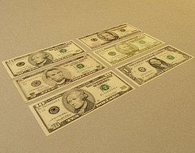 3D model American Currency