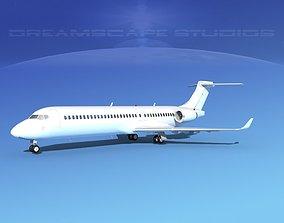 Comac ARJ21-700 Unmarked 2 3D model