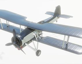 wing Fairey Swordfish 3D model