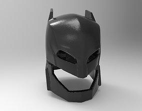 Batman helmet armored for 3D printing