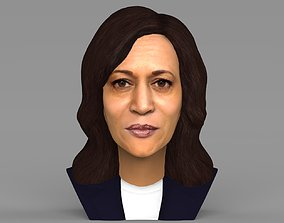 Kamala Harris bust ready for full color 3D printing