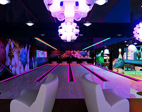 Bowling Interior 3D Model