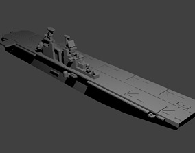 3D print model US Wasp Class Helicopter Carrier miniatures