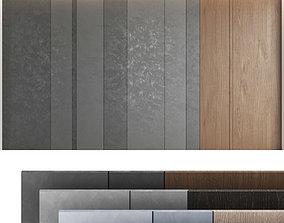 Decorative wall panel set 52 3D model