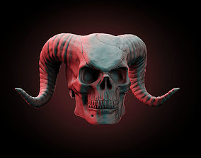 3D print model creature Demon Skull