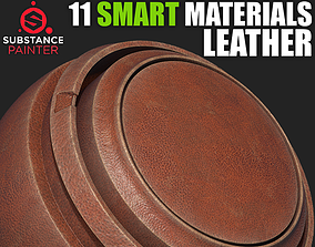 3D Leather Smart Materials for Substance Painter
